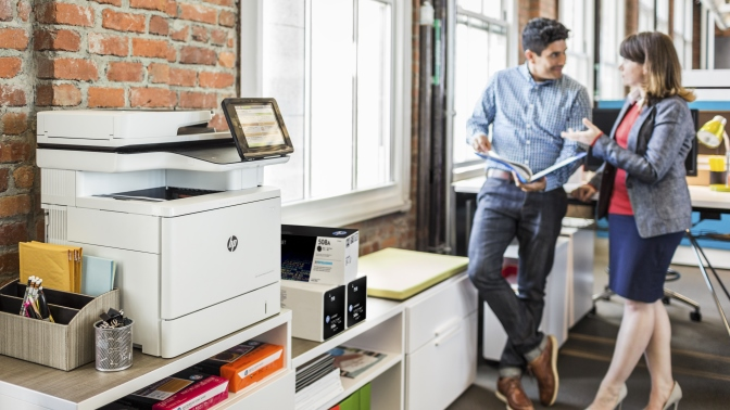 HP Color LaserJet MFP M577
